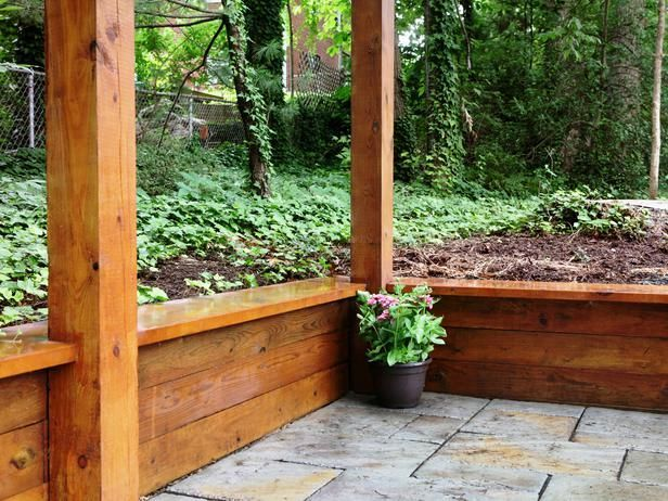 Building a Timber Retaining Wall -   22 garden steps retaining wall ideas