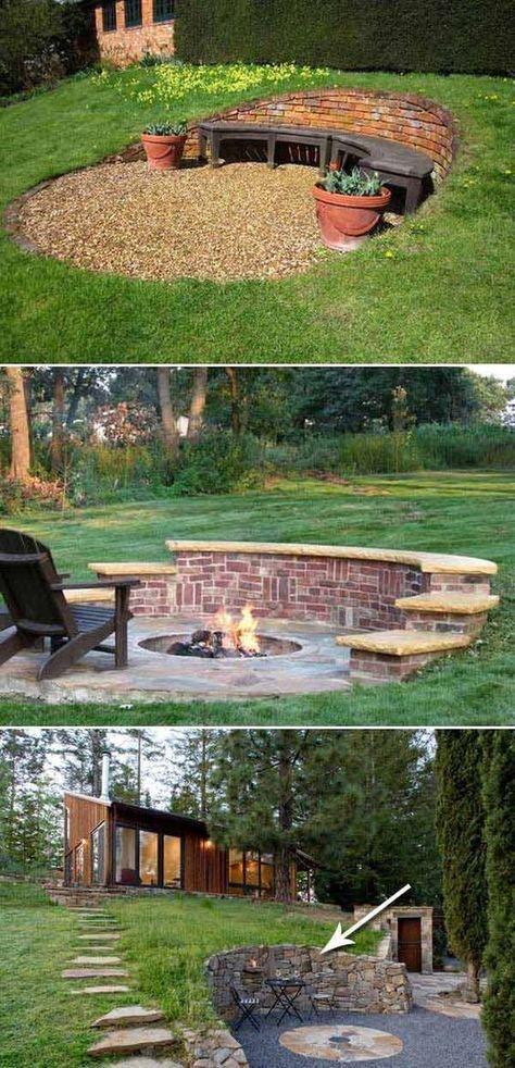 20 Inspiring Tips for Building a DIY Retaining Wall -   22 garden steps retaining wall ideas