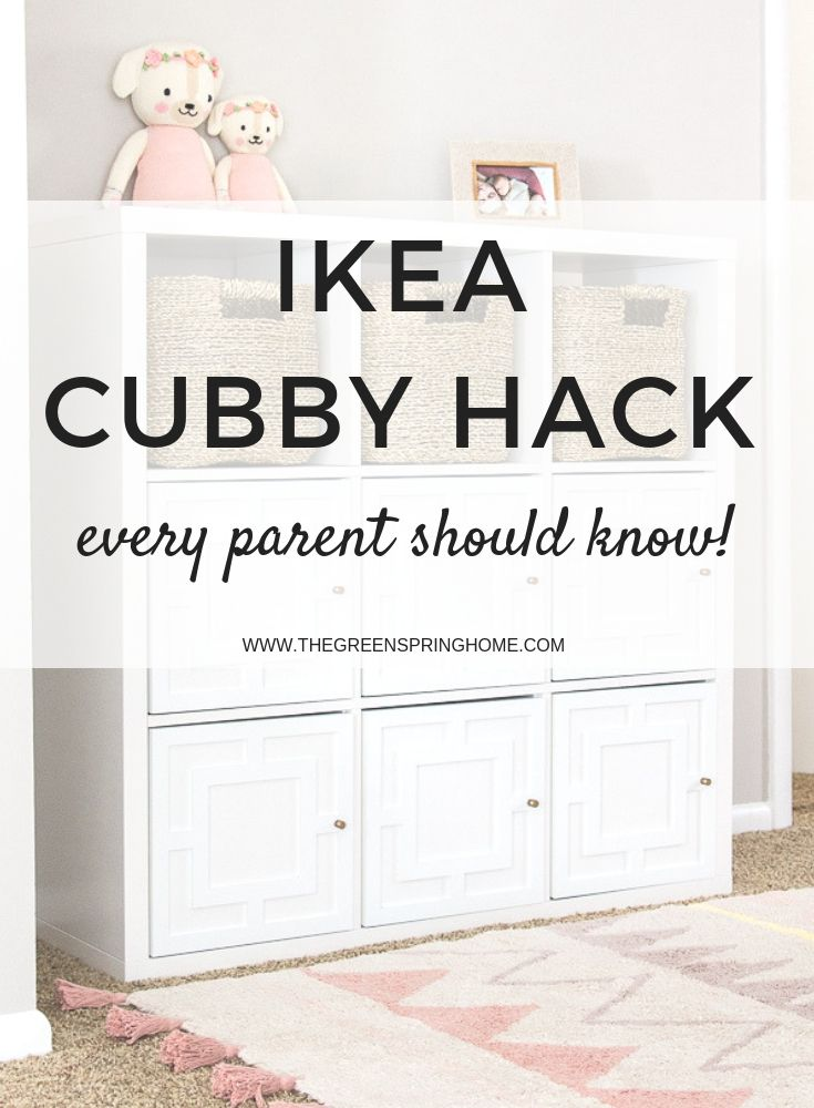 Applique IKEA Kallax Hack -   24 diy furniture ikea ideas