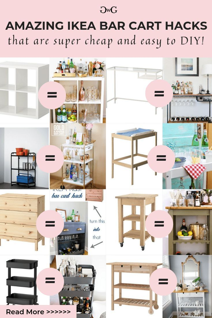 24 diy furniture ikea ideas