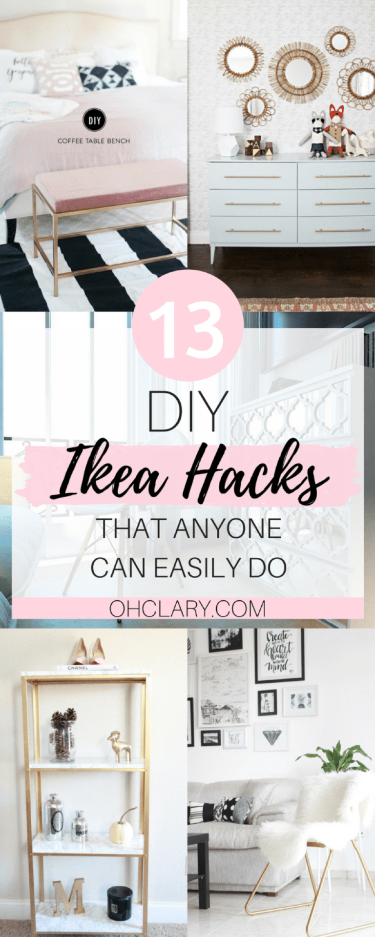 13 DIY IKEA Hacks to Transform Your Furniture On a Tiny Budget -   24 diy furniture ikea ideas