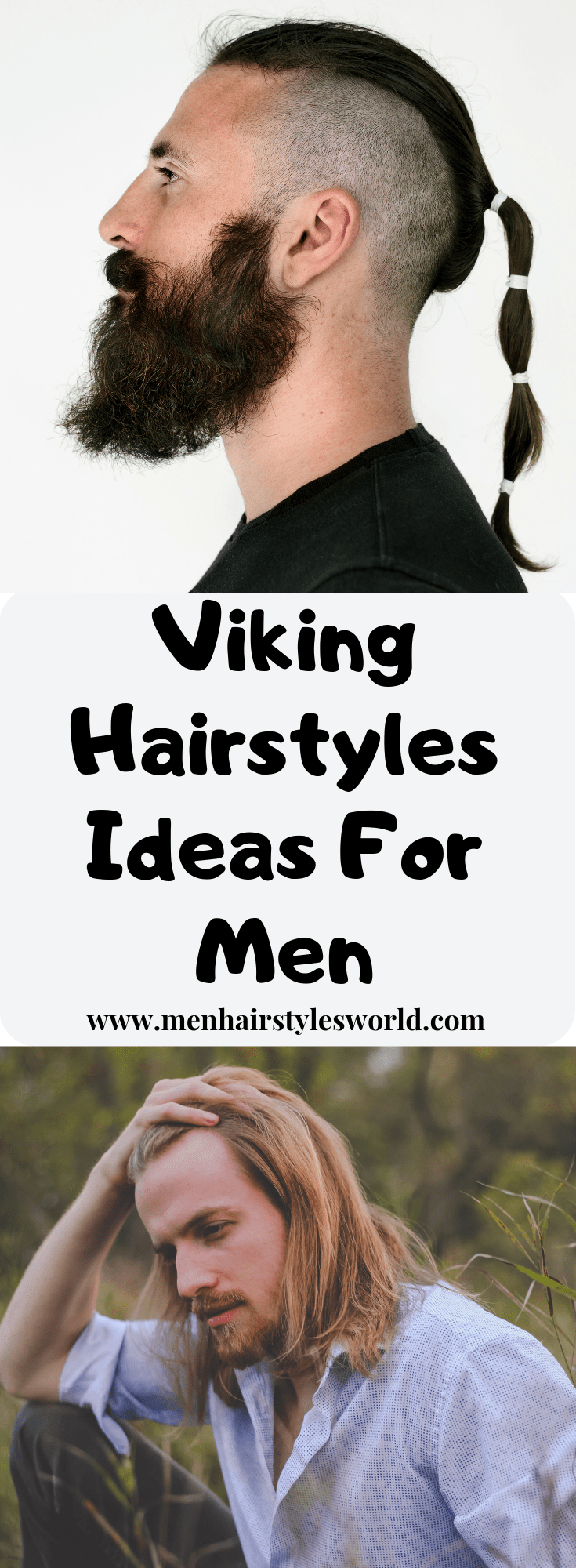 Viking Hairstyles Ideas for Men -   Viking hairstyles for Men