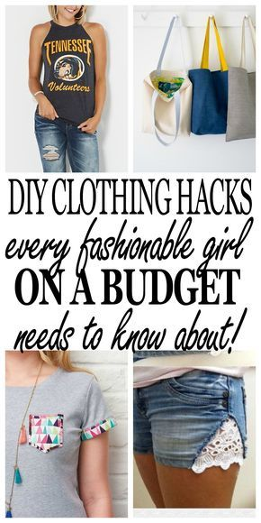 DIY Clothing Hacks for Every Fashionable Girl on a Budget -   15 DIY Clothes Bleach summer ideas