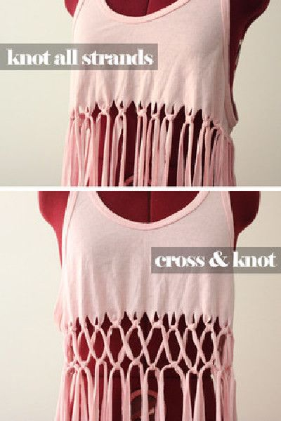 20 Upcycled Shirts You Can Use For Summer -   15 DIY Clothes Bleach summer ideas