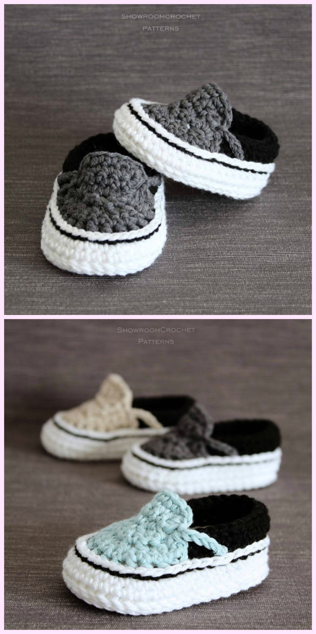 20 knitting and crochet baby booties ideas