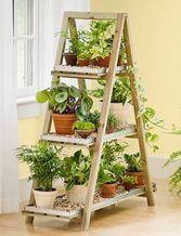 Nesting Triple Pot Stand -   17 plants Stand inspiration ideas