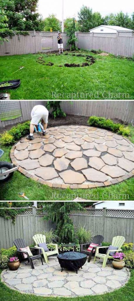 31 DIY Outdoor Fireplace and Firepit Ideas -   16 garden design Decking tutorials ideas