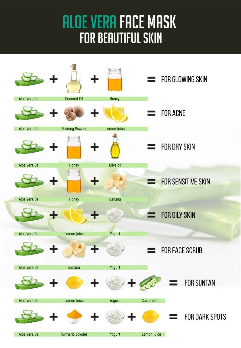 Aloe vera face mask for beautiful skin -   16 makeup Face aloe vera ideas