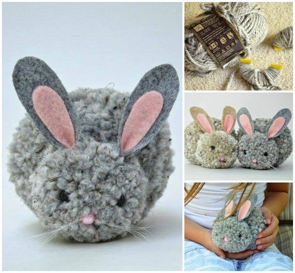 15 holiday Easter pom poms ideas