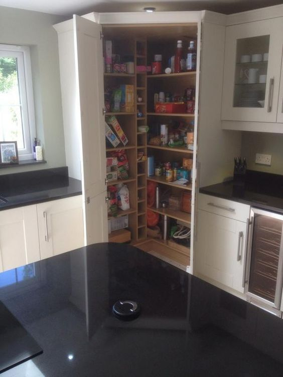 Make Your Kitchen Stunning with These Contemporary Larder Pantry Design Ideas -   13 fitness Interior ideas