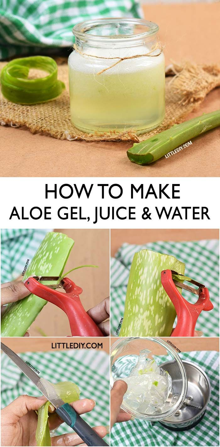 HOW TO MAKE ALOE VERA GEL with benefits -   16 makeup Face aloe vera ideas