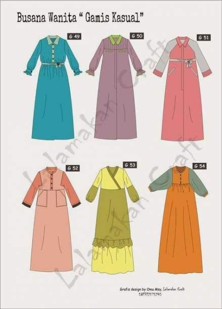 Dress pattern simple tunics 41 Best ideas -   9 pola dress Muslim ideas