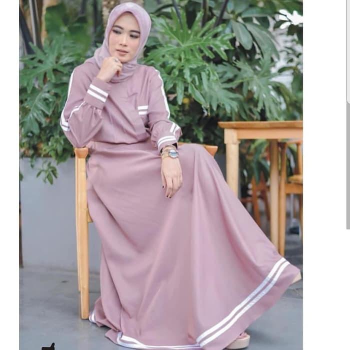 Jb RESYITA DRESS AQ001 Price: 99,000 Material: Soft and falling Moschcrape ... -   9 pola dress Muslim ideas