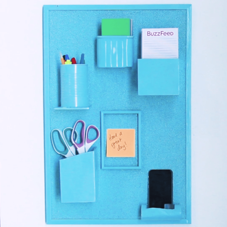 Turn Household Materials Into A Wall Organizer -   14 diy projects Videos organizing ideas