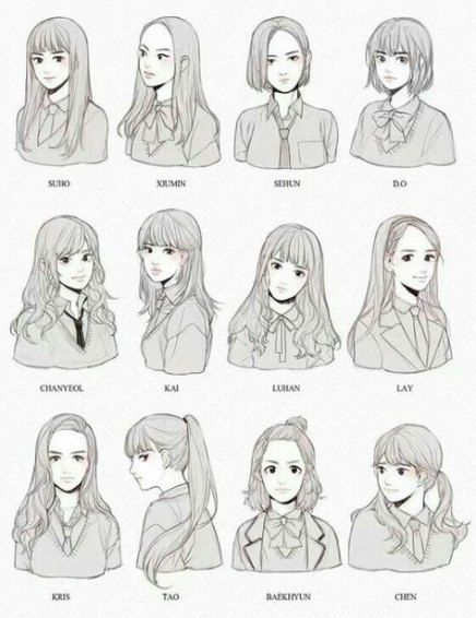 Super drawing hair anime hairstyles Ideas -   7 hairstyles anime ideas