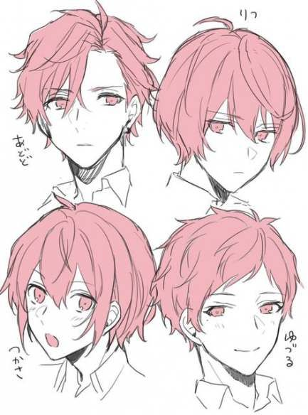 7 hairstyles anime ideas