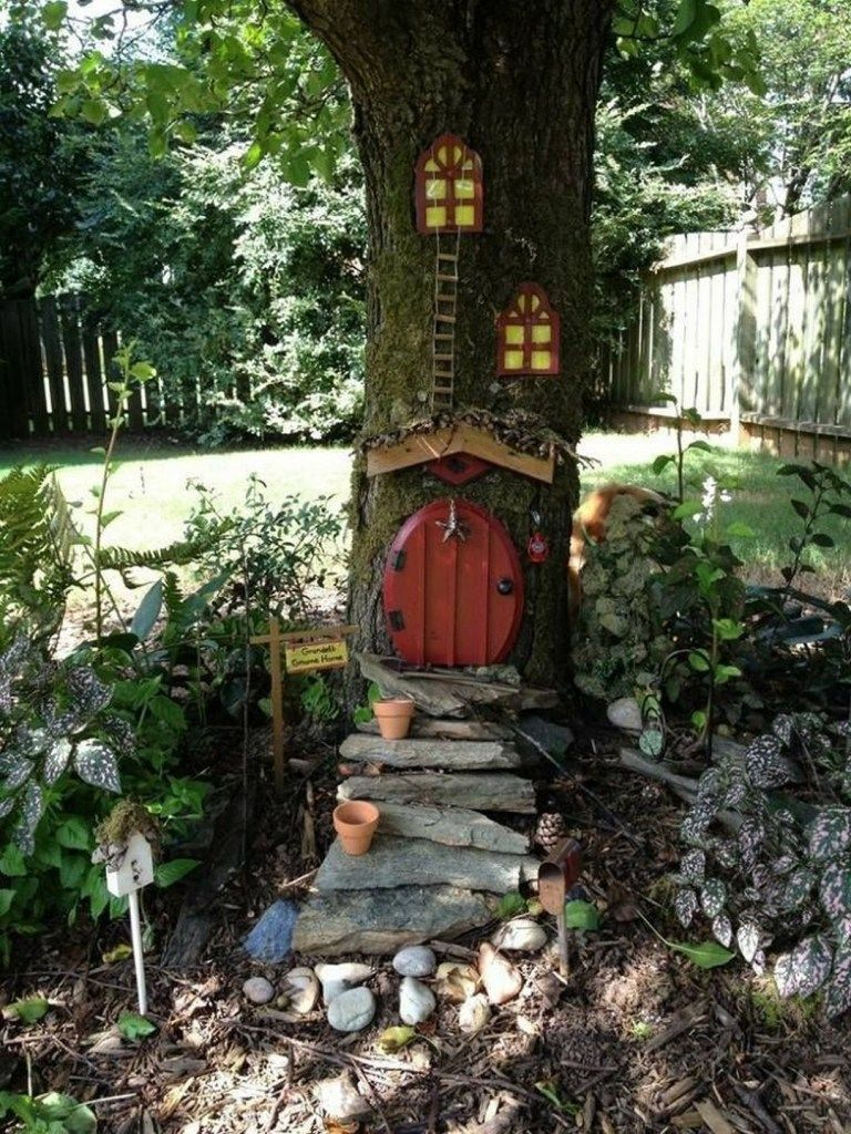 Beautiful and easy fairy garden ideas for kids -   16 garden design For Kids trees ideas