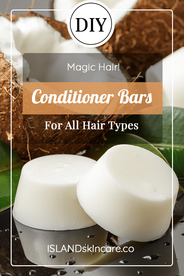 DIY - Conditioner Bars For All Hair Types -   16 hair Natural homemade recipe ideas