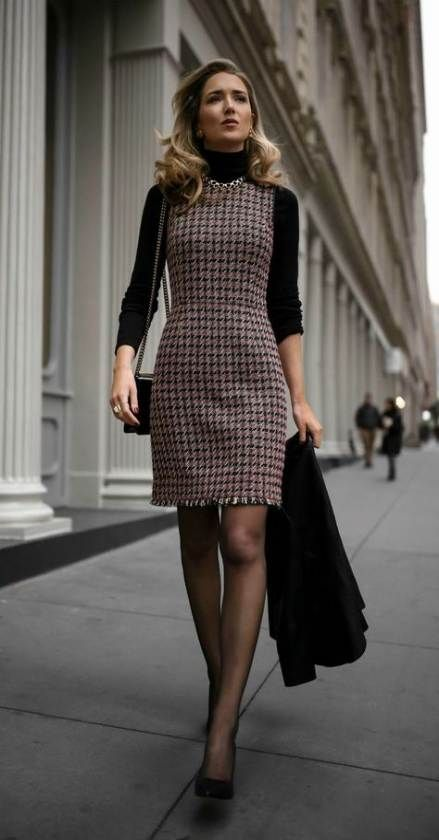 34+ ideas for dress black work tights -   16 dress For Work party ideas