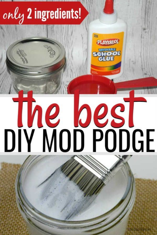 Homemade Mod Podge - How to make mod podge -   17 diy projects For Mom canvases ideas