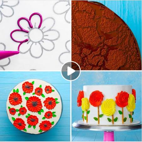 Easy cake decorating ideas. 🎂 -   23 cake Videos art ideas
