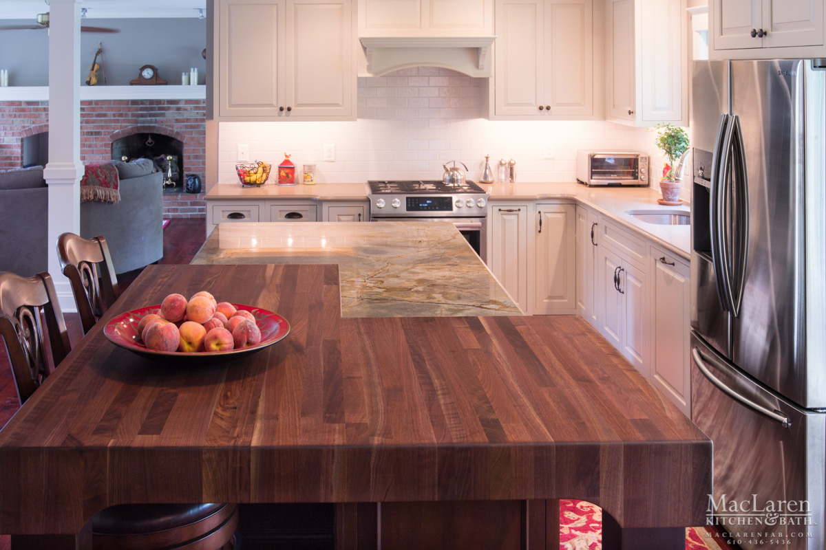 fancy-kitchen-island-with-butcher-block-countertop-for-modern-kitchen-decor-idea